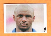 France Patrick Vieira Arsenal